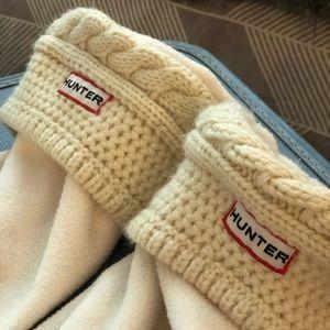 Knitted Hunter Boot Socks